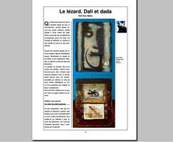 Le lézard, Dali et dada